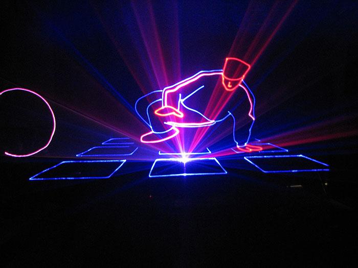 Lasergaze Lasergewebe schwarz