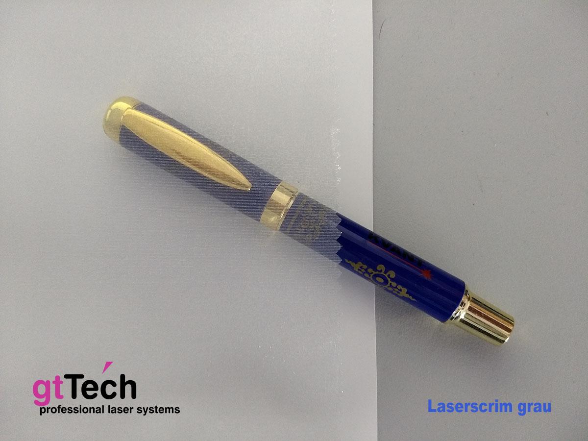 Laserscrim Lasergewebe grau
