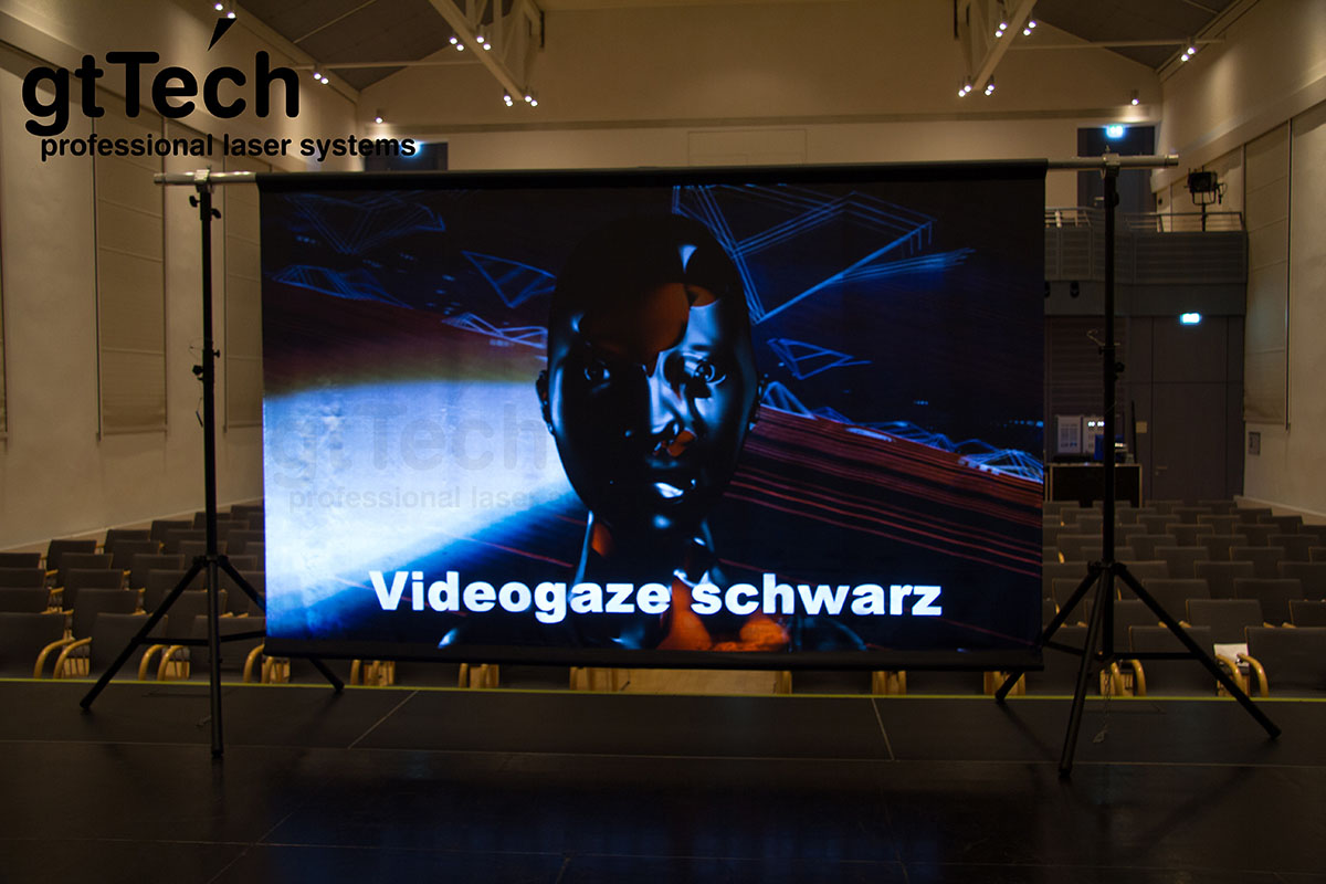 Videogaze schwarz