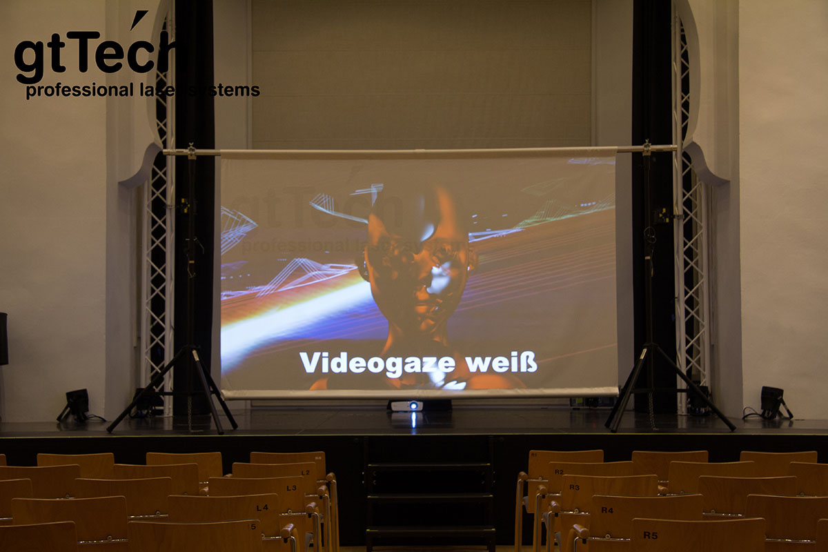 Videogaze weiß