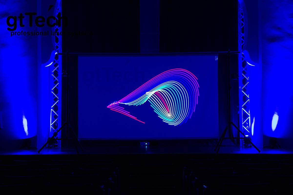 Blickdichter Projektionsstoff Videogaze by GT-TECH Laser