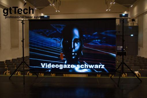 videogaze-schwarz-projektion-beamer-aufpro