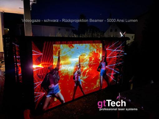 videogaze-schwarz-rückpro-beamer