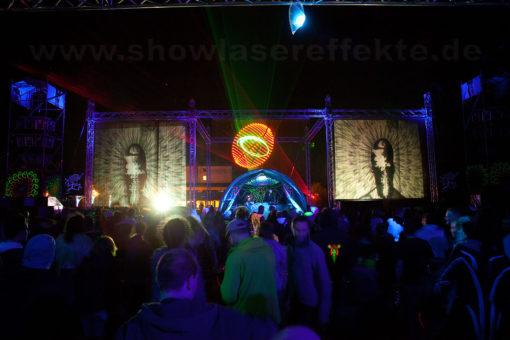 wasserleinwand-waterscreen-laser-beamer